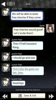 Just playing Jaehee route and found this!! OMG Jumin broke the 4th wall!!! My life was complete now