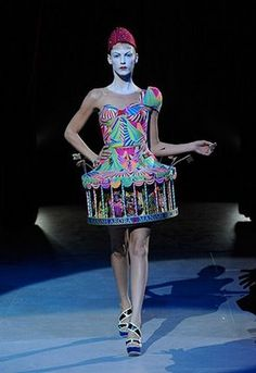 images of bizarre fashions - Google Search I love it.....would I wear it? Perhaps if I was tripping on acid!!