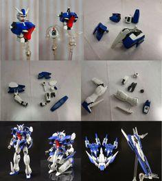 FG 1/144 Gundam Rasiel Raiser Custom Build - Gundam Kits Collection News and Reviews