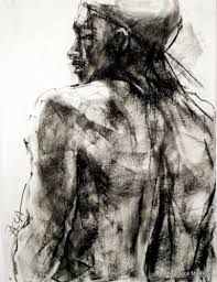 Image result for charcoal portraits abstract