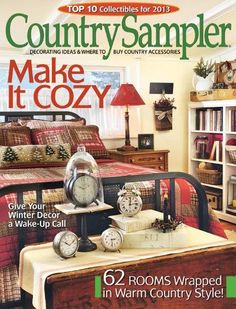 463 Best Country Sampler images | Country sampler, Country ...
