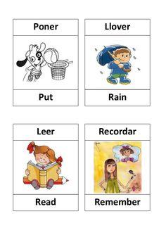 Resultado de imagen para 100 verbos en ingles con dibujos