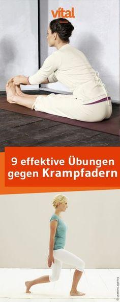 Mit Venengymnastik könnt ihr Krampfadern vorbeugen. Wir haben für euch 9 effektive und einfache Übungen für zuhause.