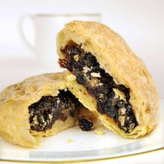 Eccles Cakes...yummy. Bought at The Queen's Pantry in Marietta, GA.