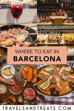 Barcelona Food Guide: Restaurants, Bars, and Coffee Shops in Barcelona, Spain A Barcelona food guide. Experience the best food in Barcelona with this detailed guide. Have a Barcelona foodie experience with all of these must-eats. Barcelona Spain Travel, Shopping In Barcelona, Barcelona Food, Barcelona Guide, Barcelona Restaurants, Barcelona Bars, Barcelona Vacation, Vacation In Spain, Barcelona New Years Eve