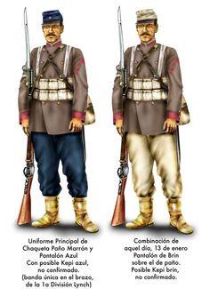 omo había batallones peruanos similares en color al brin, se ordenó usar la chaqueta de paño normal. La idea era diferenciarse del enemigo, para evitar confundirse. El batallón Quillota estaba en Lurín para Chorrillos. Se le ordenó unirse al resto del ejército. Lo malo es que llegaron justo cuando comenzaba la batalla de Miraflores. No sabiendo la orden de Baquedano, entraron de brin entero. Resultado, los propios chilenos les corrieron bala.