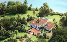 Luxury Architectural Designers in Palm Beach | Wadia Associates French Country Style, Italian Style, Palm Beach Regency, Florida Design, Architecture Design, Golf Courses, Ocean, Exterior, House Design
