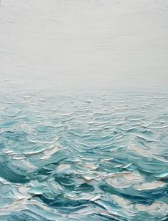 Foggy Seas by Ann Marie Coolick #seascape #oilpainting #sea #ocean #painting