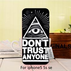 Silicone case On Sale Luxury Cool phone Accessories Case For case  6 6plus 7 7plus  Don't Trust Anyone Eyes