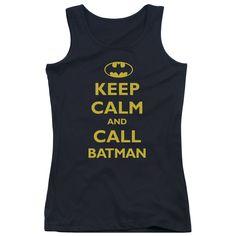 Batman: Call Batman Junior Tank Top