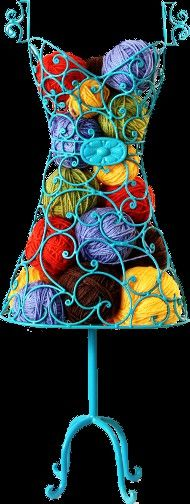 Kristin - this is an awesome look/way to display yarn although not practical for a show and selling them.