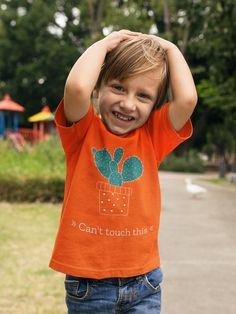 Cant touch this – Kinder T-Shirt