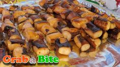 Traditional Octopus Skewer (Muneo Kkochi : 문어꼬치) - Korean Street Food , ,