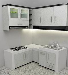 34 Stunning Kitchen Set Design Ideas Which You Definitely Like - There are many products you can purchase for use in your kitchen, one of which should be a high quality set of utensils. The type of cutlery set you c. Kitchen Room Design, Modern Kitchen Design, Home Decor Kitchen, Interior Design Kitchen, Home Kitchens, Small Kitchen Set, Kitchen Sets, Affordable Bedroom Sets, Kitchen Models