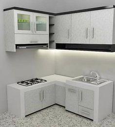 Pilihan Lemari Dapur Minimalis Untuk Rumah Minimalis