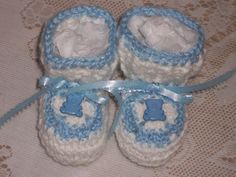 Hey, I found this really awesome Etsy listing at https://www.etsy.com/listing/97034926/baby-boy-crochet-booties