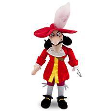 Captain Hook Plush - $19.50