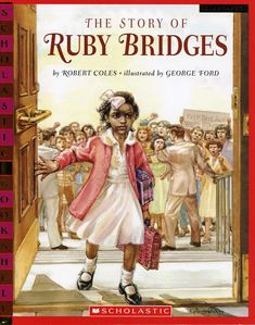 This amazing INFO BOOK was apart of my just read stack and it was the amazing tale of Ms. Ruby Bridges and how she went to a school despite the odds and opinions of others. This book would be so useful when teaching concepts such as bravery.
