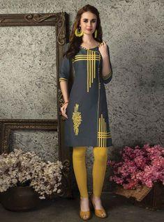 Shop Online Pages at fair price Kurta Designs Women, Kurti Neck Designs, Blouse Designs, Designs For Dresses, Mode Hijab, Pakistani Outfits, Indian Designer Wear, Simple Dresses, Indian Dresses