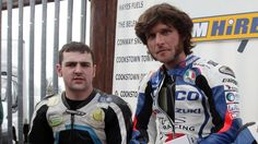 Michael Dunlop and Guy Martin - NW200 - 2013