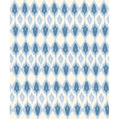 blue ikat recycled cotton throw