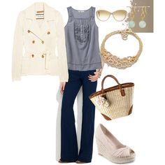Spring Blues, created by boringwife on Polyvore