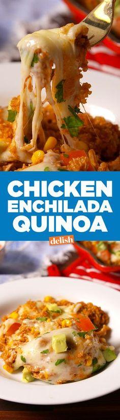 Chicken Enchilada Quinoa