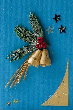 70 φανταστικές Χριστουγεννιάτικες κατασκευές και στολίδια με χαρτί και την τεχνική Quilling!