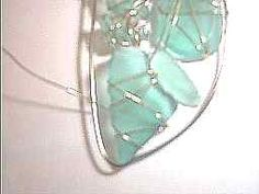 Wire 'framing' your sea glass