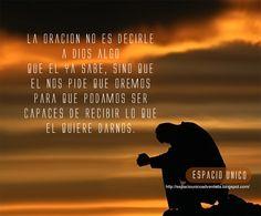 La oración...