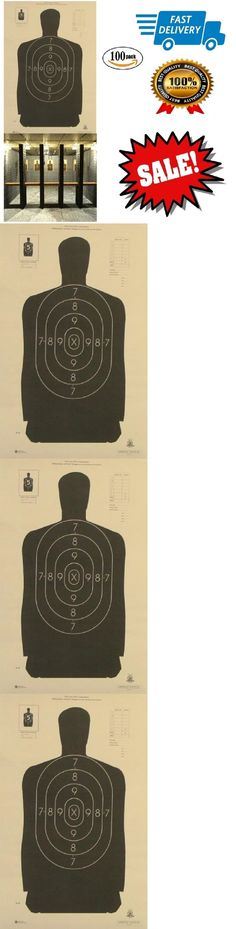 Targets 73978: 100 Count Paper Shooting Target Silhouette Police Pistol Rifle Gun Range Targets -> BUY IT NOW ONLY: $33.95 on eBay!