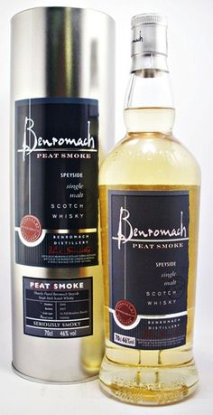 Benromach Peat Smoke Speyside Peated Scotch