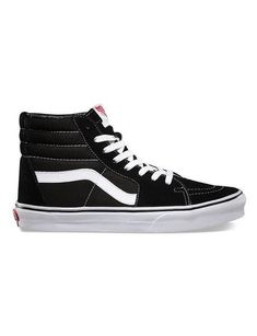 0800bd05a68ec8 Vans Suede Canvas SK8-HI Skate Shoes - Black