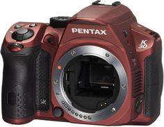 Pentax K-30 16 MP CMOS Digital SLR Silky Red