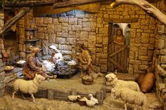 Hobbies That Will Make You Money Village Miniature, Miniature Rooms, Christmas Decorations, Christmas Crafts, Christmas Ornaments, Christmas Ideas, Nativity Stable, Nativity Sets, Hobby House