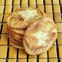 All Butter Soft and Chewy Snickerdoodles - the best and most addictive Snickerdoodle Cookie recipe that I've tried in over 30 years of baking.