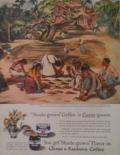 Chase & Sanborn Vintage Coffee Advertisment  Coffee by Inkart, $2.50
