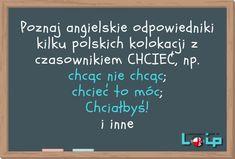 Czasownik GO i jego przyimki (to, on, for) - Loip Angielski Online Teaching English, Teaching Ideas, Polish Language, Languages