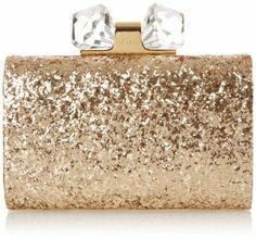 Ted Baker Karsie Crystal Frame Glitter Clutch