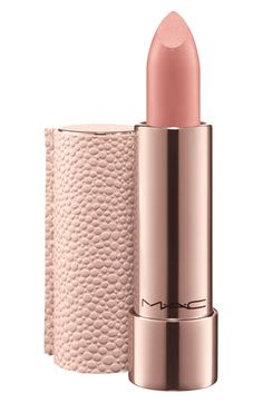 Pretty neutral shade. rose gold + texture | Mac 'Making Pretty' lipstick