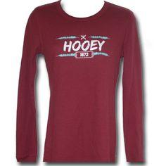 SALE Hooey® Ladies' Long Sleeve Thermal Shirt