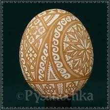 Ukrainian Pysanky Etched Pysanka Chicken Easter Egg Art