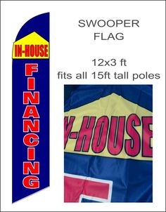 TATTOOS /& PIERCINGS Windless Full Curve Top Advertising Banner Flag Sleeves Old