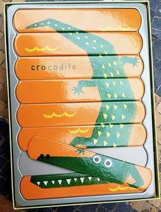 Puzzle crocodile Crocodile, Puzzle, Toys, Crocodiles, Puzzles, Puzzle Games, Riddles