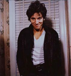 "Bruce Springsteen ""Darkness.."" Outtake photo"