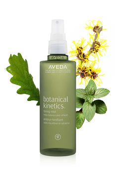 "Use Botanical Kinetics Toning mist to ""wake up"" your skin and re-focus during the day."