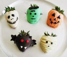 PARTTIS: Opciones de postres para barra de Halloween