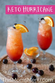 Try Keto Hurricane! Try this super easy and low carb version of the classic Big Easy Cocktail. Low Carb Cocktails, Easy Cocktails, Cocktail Recipes, Low Carb Mixed Drinks, Summer Cocktails, Easy Alcoholic Drinks, Diet Drinks, Party Drinks, Milkshake