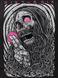 SKULLS - Disturbia Clothing - Disturbia Crypt - Rasputin
