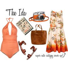 Summer Wanderer Series: The Ida by sartoriography on Polyvore featuring Basta, Madewell and Hermès